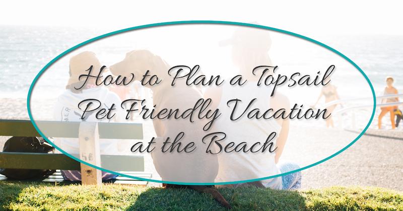 Topsail Beach Dog Friendly Rentals