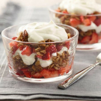 Yogurt and Granola Trifle