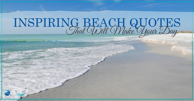 Inspiring Beach Quotes That Will Make Your Day | www ... on